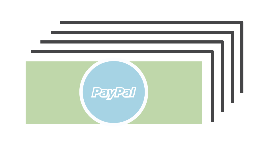 Get paid fast and easy via PayPal